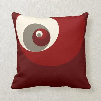 Gouden Verhouding (Rode) Cirkels Kussen