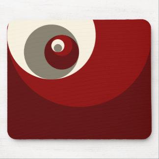 Gouden Verhouding (Rode) Cirkels Muismat