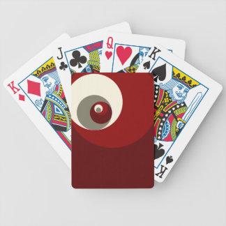 Gouden Verhouding (Rode) Cirkels Speelkaart