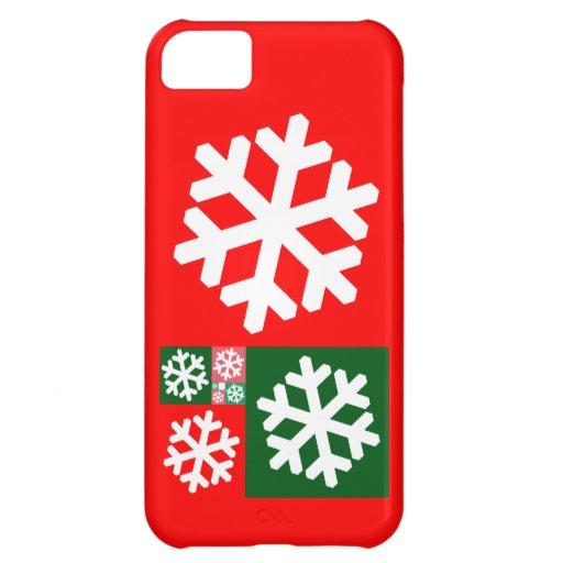 Gouden Verhouding Sneeuwvlokken iPhone 5C Hoesje