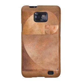 Gouden Verhouding, Spiraal Fibonacci Samsung Galaxy SII Hoesjes