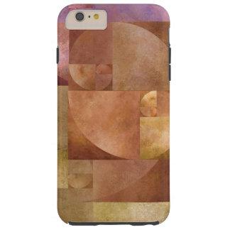 Gouden Verhouding, Spiraal Fibonacci iPhone 6 Plus Tough Hoesje