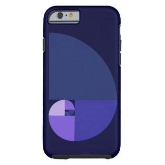 Gouden Verhouding, Spiraal Fibonacci Tough iPhone 6 Hoesje