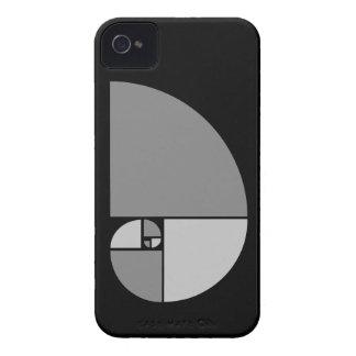 Gouden Verhouding, Spiraal Fibonacci iPhone 4 Hoesje