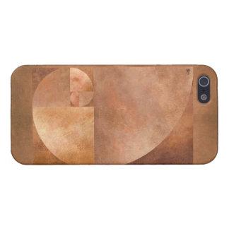 Gouden Verhouding, Spiraal Fibonacci iPhone 5 Hoesje
