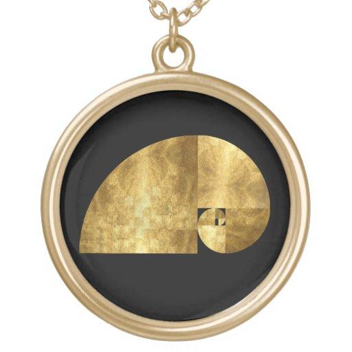 Gouden Verhouding, Spiraal Fibonacci Hangertje