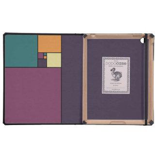 Gouden Verhouding Vierkanten iPad Cases