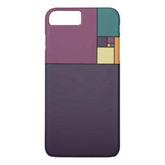 Gouden Verhouding Vierkanten iPhone 7 Plus Hoesje