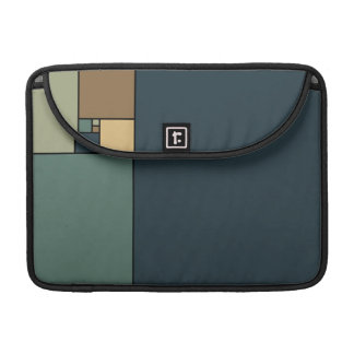 Gouden Verhouding Vierkanten Beschermhoes Voor MacBooks