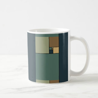 Gouden Verhouding Vierkanten Koffie Bekers