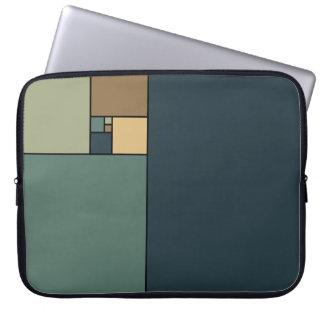 Gouden Verhouding Vierkanten (Neutrals) Computer Sleeve