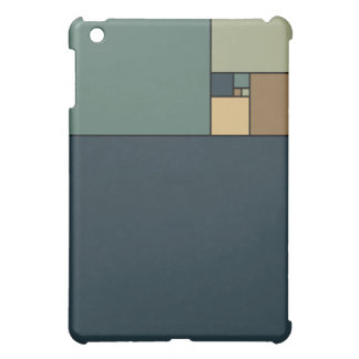 Gouden Verhouding Vierkanten (Neutrals) Hoesje Voor iPad Mini