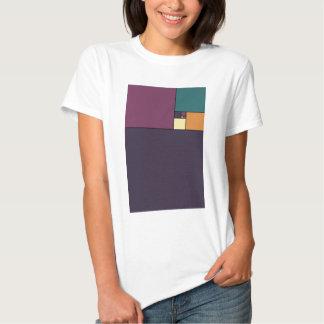 Gouden Verhouding Vierkanten T Shirt