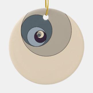 Gouden Verhoudingen Cirkels Kerstboom Ornament
