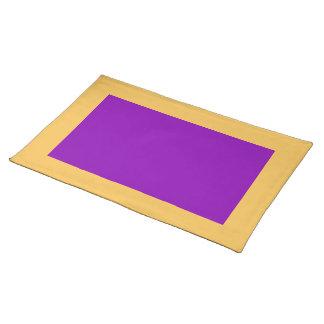 Goudsbloem en Violette Placemat
