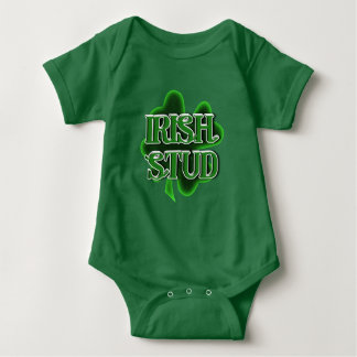 Goujon d'Irlandais de bébé du jour de St Patrick Body