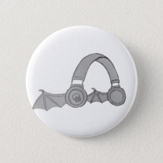 Goupille d'écouteur badge rond 5 cm