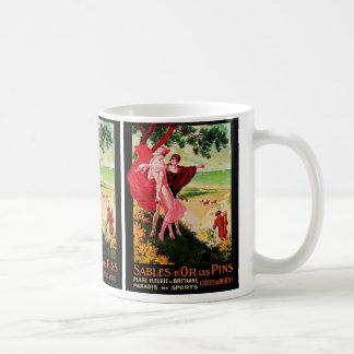Goupilles de Les de d'Or de sables Mug