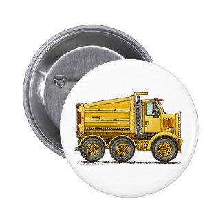 Goupilles tandem diesel de construction de camion  badge rond 5 cm