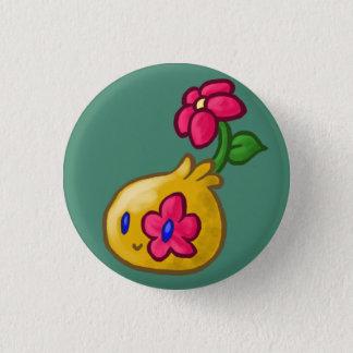 Goutte de fleur badge rond 2,50 cm