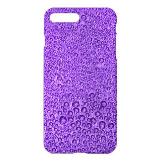 Gouttelettes de condensation de l'eau au-dessus de coque iPhone 7 plus