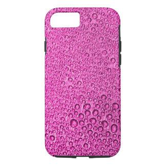 Gouttelettes de condensation de l'eau au-dessus de coque iPhone 8/7