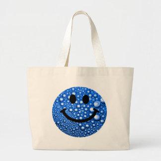 Gouttelettes d'eau souriantes grand sac