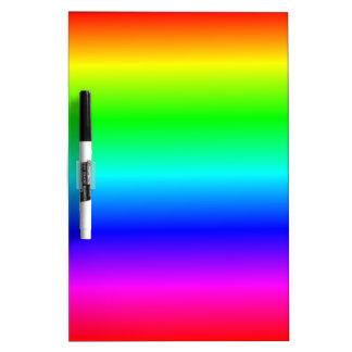 Gradient linéaire de H - arc-en-ciel Tableaux Blancs Effaçables À Sec