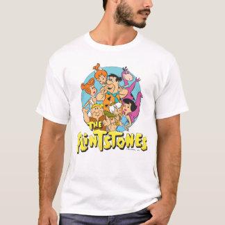 Grafische Flintstones en de Familie van het Puin T Shirt