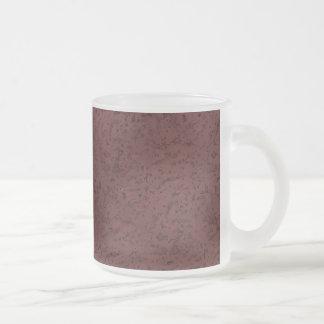 Grain en bois de regard de liège de vin rouge tasse givré
