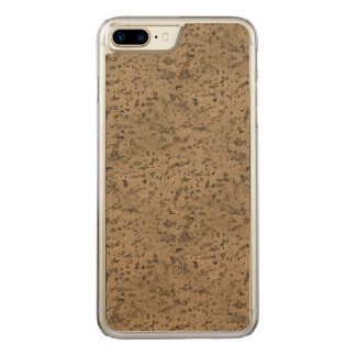 Grain en bois de regard d'écorce de liège naturel coque en bois iPhone 7 plus