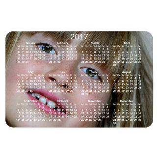 Grand aimant flexible personnalisé des calendriers magnet flexible