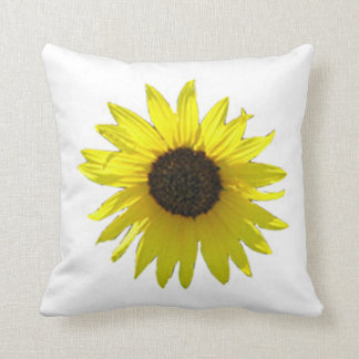 Grand coussin de tournesol