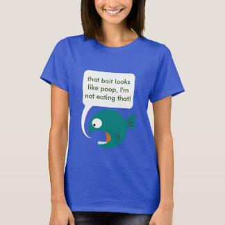 Grand gros T-shirt de poissons de critique