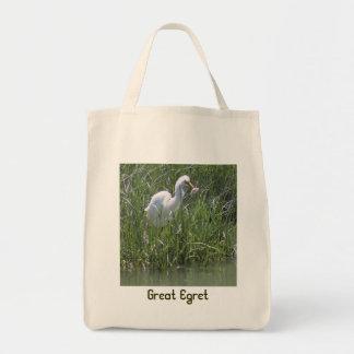 Grand héron Fourre-tout Tote Bag