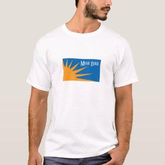 Grand logo de Mise Eire - aucun T-shirt de Tagline
