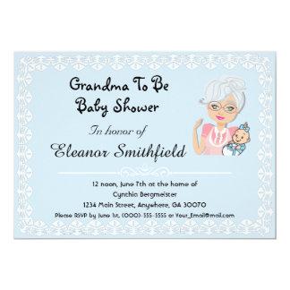 Grand-maman à être invitation de baby shower