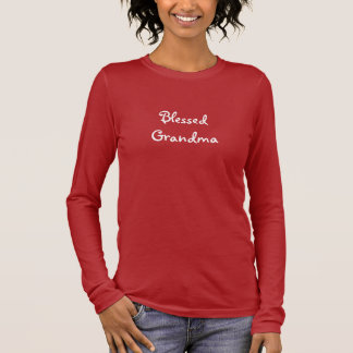 Grand-maman bénie t-shirt à manches longues