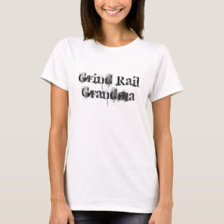 Grand-maman de rail de morcellement t-shirt