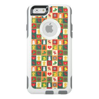Grand motif de Noël Coque OtterBox iPhone 6/6s