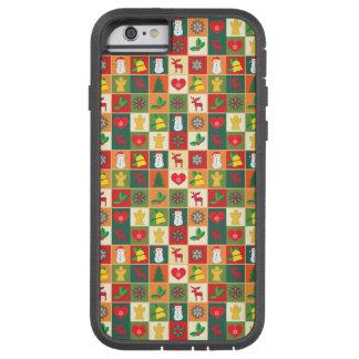 Grand motif de Noël Coque Tough Xtreme iPhone 6