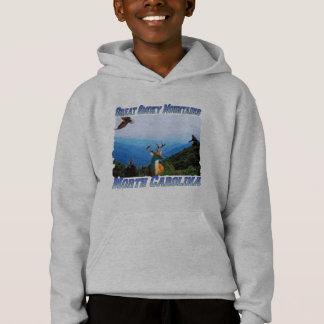 Grand Mtns fumeux N Caroline badine le sweatshirt