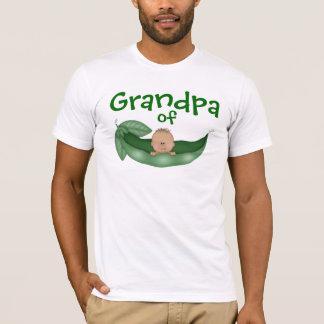 Grand-papa de bébé avec la peau foncée t-shirt