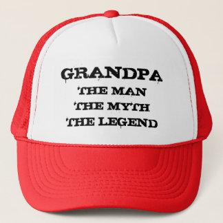 Grand-papa l'homme le mythe le casquette de