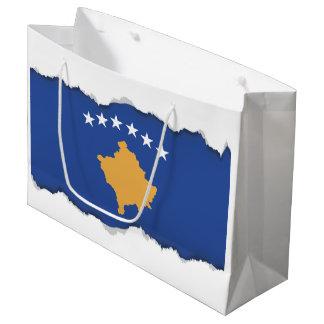 Grand Sac Cadeau Drapeau de Kosovo