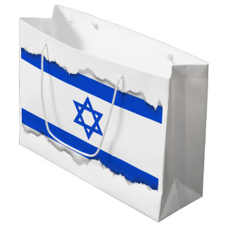 Grand Sac Cadeau Drapeau d'Israélien