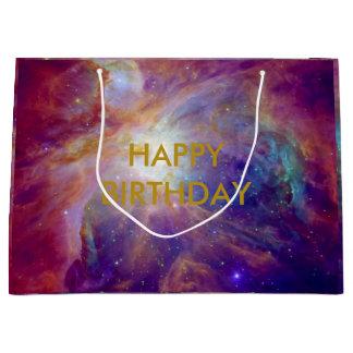 Grand Sac Cadeau La NASA rose de Fuschia de nébuleuse d'Orion