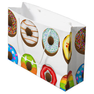 Grand Sac Cadeau La partie de biscuits de bonbons à bâillon