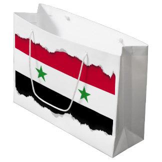 Grand Sac Cadeau Le drapeau de la Syrie