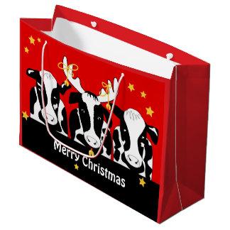Grand Sac Cadeau Noël effraye l'atterrisseur drôle gigaoctet